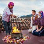 Alex Pelling and Lisa Gant: Thirty Wedding Ceremonies of British Couple Around the Globe